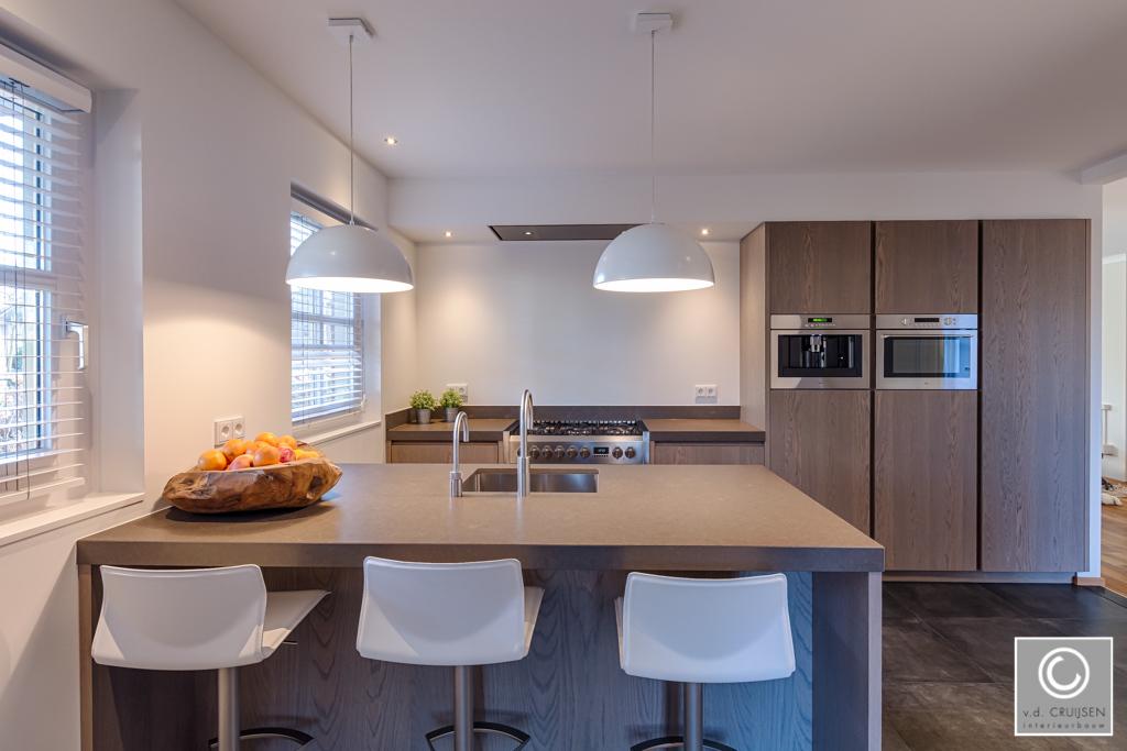 Keuken Wandkast 8 : Moderne keuken in boekel u van der cruijsen interieurbouw