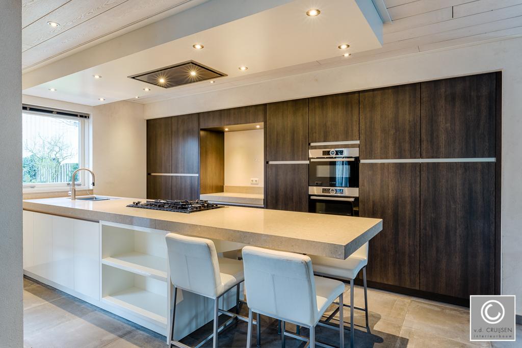 Moderne keuken uden u2022 van der cruijsen interieurbouw