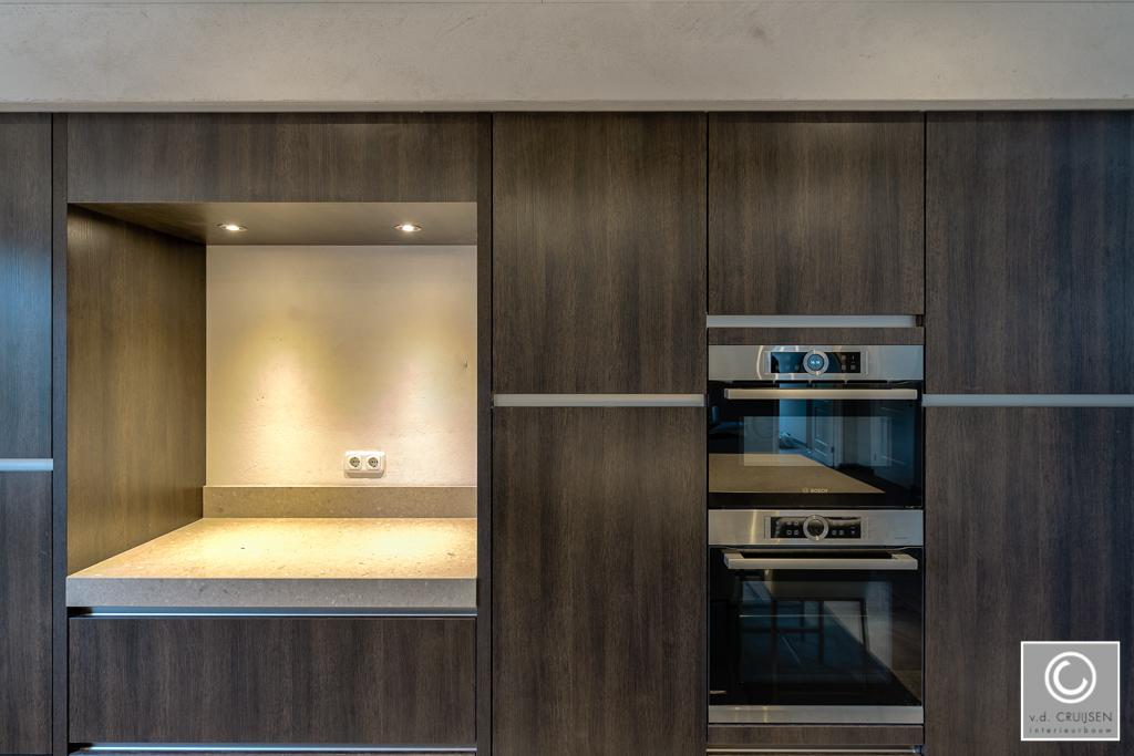 Keuken Wandkast 8 : Moderne keuken uden u van der cruijsen interieurbouw
